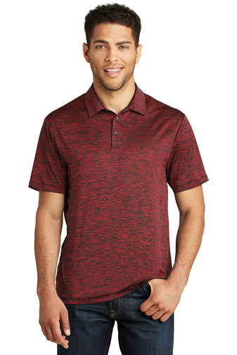 Sport-Tek - ST590 Mens PosiCharge Electric Heather Polo, Pensacola, Embroidery, Screen Printing, Logo Masters International