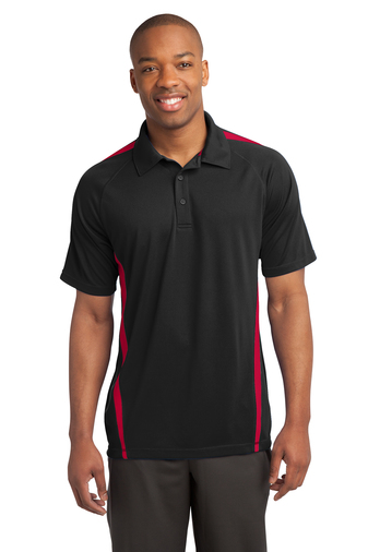 Sport-Tek - ST685, Mens PosiCharge Micro-Mesh Colorblock Polo - Logo Masters International