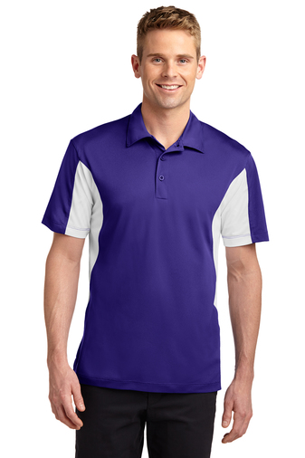 Sport-Tek - ST655 Mens Side Blocked Micropique Sport-Wick Polo
