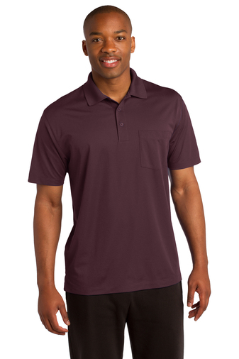 Sport-Tek - ST651 Mens Micropique Sport-Wick Pocket Polo, Pensacola, Embroidery, Screen Printing, Logo Masters International