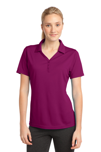 Sport-Tek - LST680, Ladies PosiCharge Micro-Mesh Polo, Embroidery, Screen Printing - Logo Masters International