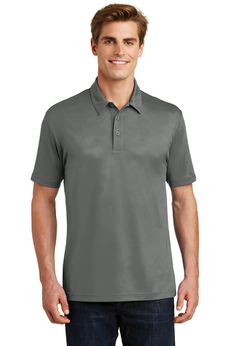 Sport-Tek - ST630, Mens Embossed PosiCharge Tough Polo - Logo Masters International