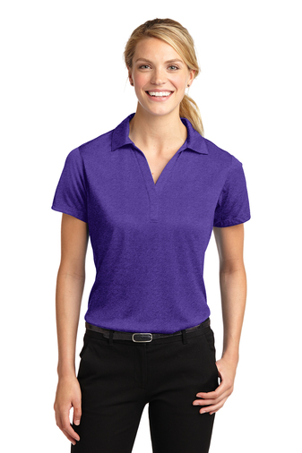 Sport-Tek - LST660, Ladies Heather Contender Polo - Logo Masters International