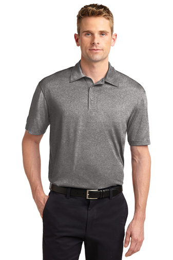 Sport-Tek - ST660 Mens Heather Contender Polo, Pensacola, Embroidery, Screen Printing, Logo Masters International