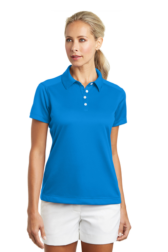 Nike - 354064 Ladies Dri-FIT Pebble Texture Polo, Pensacola, Embroidery, Screen Printing, Logo Masters International