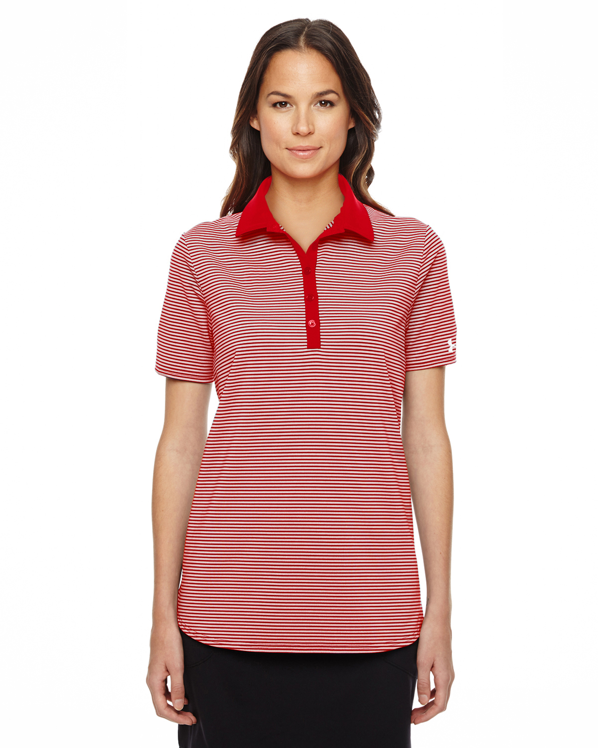 Under Armour Women's Playoff Stripe Polo