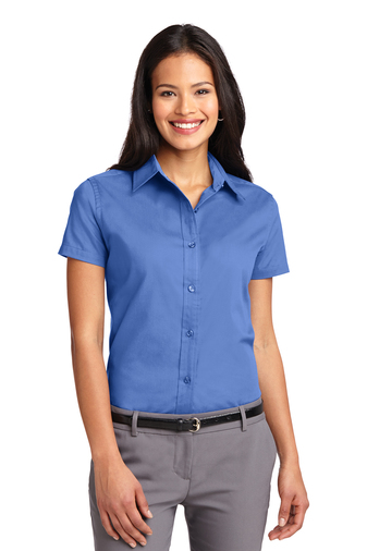 Port Authority Ladies Embroidered Short-sleeve Easy Care Shirt