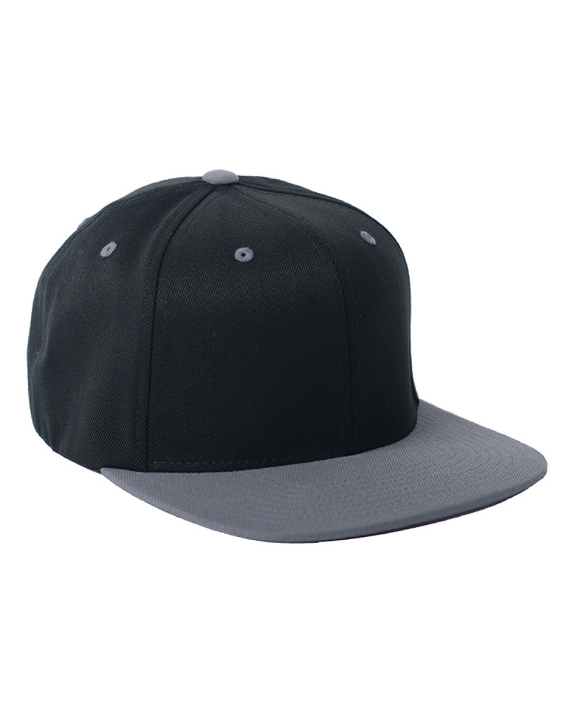 FlexFit Wool Blend Snapback Two-Tone Cap