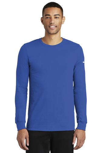 Nike Men's Dri-FIT Cotton/Poly Long Sleeve Tee