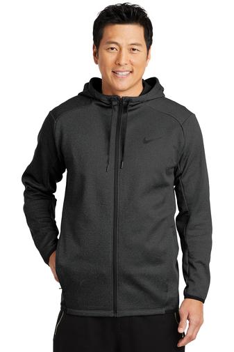 Nike Men's Therma-FIT Textured Fleece Full-Zip Hoodie