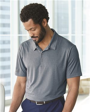 Adidas Men's Heathered Sport Shirt