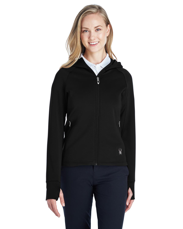 Spyder Ladies' Hayer Full-Zip Hooded Fleece Jacket