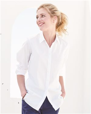 Tommy Hilfiger Women's New England Solid Oxford Shirt