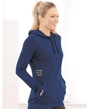 Adidas Women's Lightweight Hooded Sweatshirt