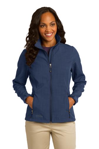 Eddie Bauer Ladies Shaded Crosshatch Soft Shell Jacket