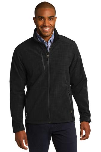 Eddie Bauer Men's Shaded Crosshatch Soft Shell Jacket