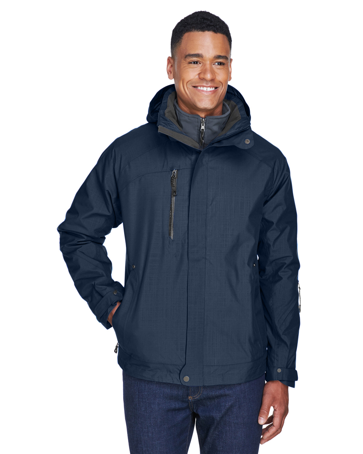 Ash City Men's Caprice 3-in-1 Jacket with Soft Shell Liner