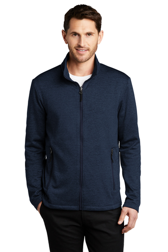 Port Authority Mens Collective Striated Fleece Jacket
