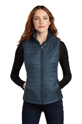 Port Authority Ladies Packable Puffy Vest