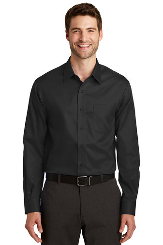 Port Authority Men's Embroidered Long-sleeve Non-Iron Twill Shirt