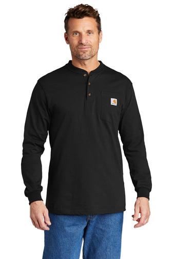 Carhartt Men's Long Sleeve Henley T-Shirt