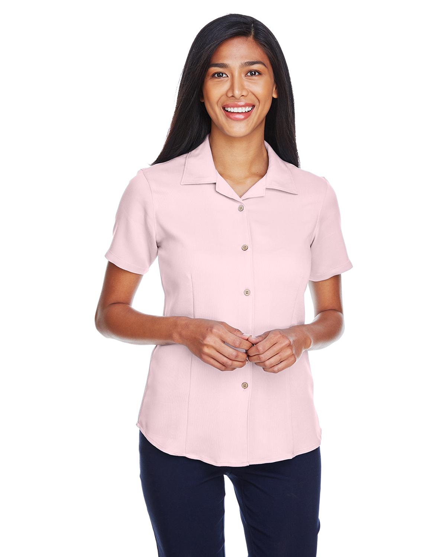 Harriton Women's Bahama Cord Camp Shirt