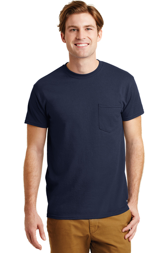 Gildan - 8300, Adult Screen Printed DryBlend 50/50 Pocket T-Shirt, Embroidery, Screen Printing - Logo Masters International