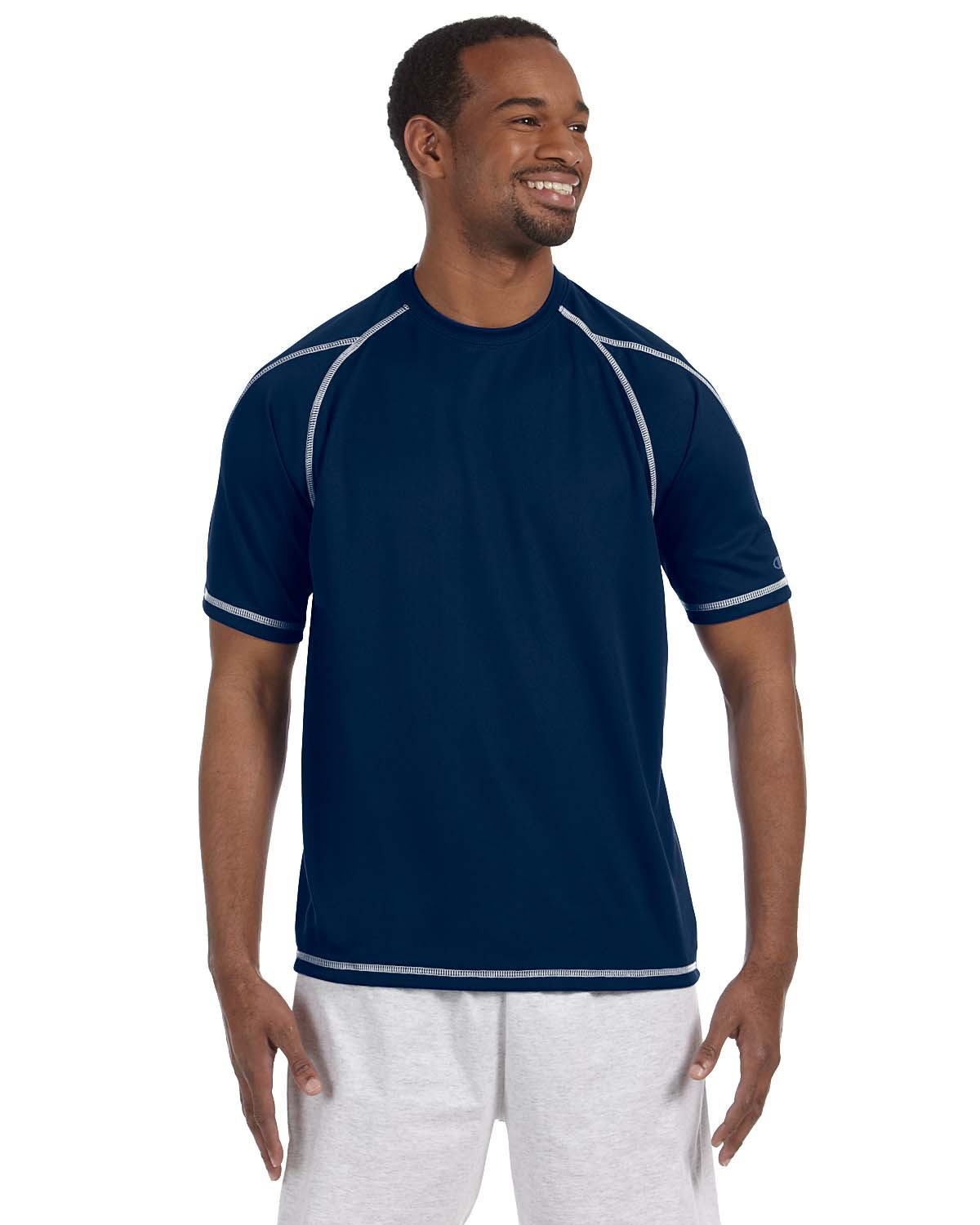 Champion - T2057 Adult Double-Dry T-Shirt