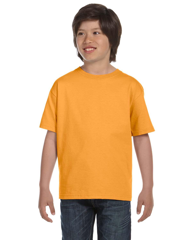 Hanes Youth 6.1 oz Heavyweight Cotton T-shirt