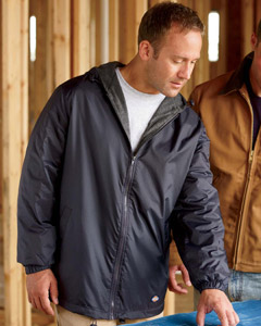Dickies - 33237,  Men's Fleece-Lined Nylon Work Jacket - Logo Masters International