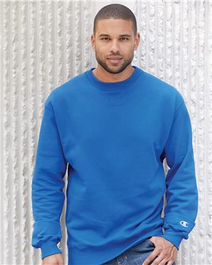 Champion Adult Cotton Max Crewneck Sweatshirt