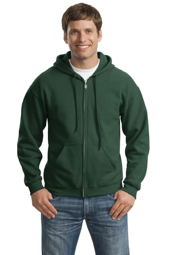 Gildan - 18600, Adult Heavy Blend 50/50 Full-Zip Hooded Sweatshirt , Embroidery, Screen Printing - Logo Masters International