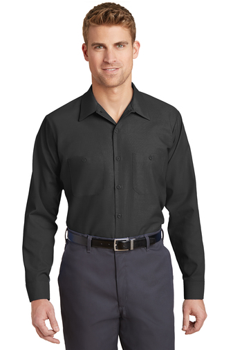 CornerStone - SP14, Men's Industrial Long-Sleeve Work Shirt , Embroidery, Screen Printing - Logo Masters International