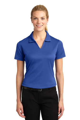 Sport-Tek - L469, Women's Dri-Mesh V-Neck Polo Shirt, Embroidery, Screen Printing - Logo Masters International