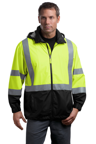 CornerStone - CSJ25, ANSI Class 3 Safety Windbreaker, Embroidery, Screen Printing - Logo Masters International