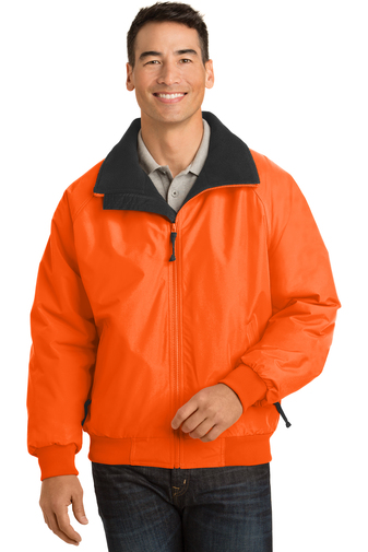 Port Authority - J754S   Safety Challenger Jacket, Pensacola, Embroidery, Screen Printing, Logo Masters International