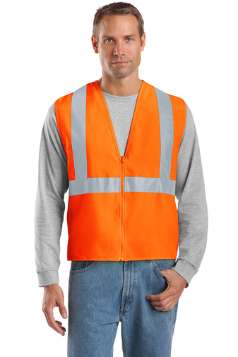 CornerStone - CSV400, ANSI 107 Class 2 Safety Vest, Embroidery, Screen Printing - Logo Masters International