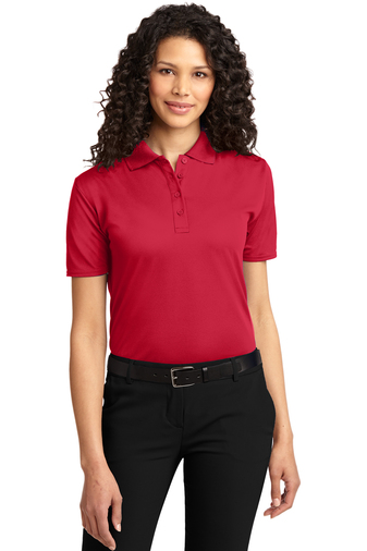 Port Authority - L525 Women's Dry Zone Ottoman Polo Shirt, Pensacola, Embroidery, Screen Printing, Logo Masters International