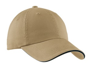 Port Authority - C830 , Washed Sandwich Bill Cap - Logo Masters International