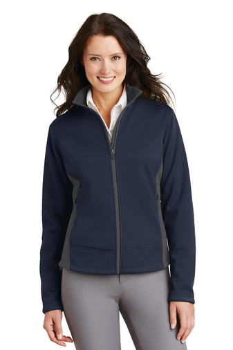 Port Authority Women's Two-Tone Soft Shell Jacket