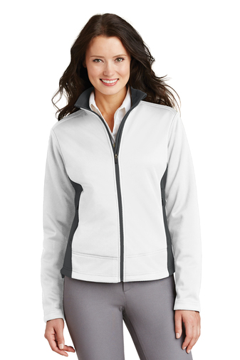 Port Authority - L794 , Women's Two-Tone Soft Shell Jacket, Embroidery, Screen Printing - Logo Masters International