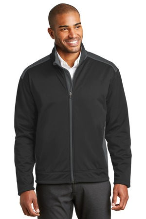 Port Authority - J794 Men's Two-Tone Soft Shell Jacket, Pensacola, Embroidery, Screen Printing, Logo Masters International