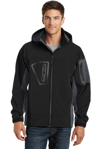 Port Authority - J798 Men's Waterproof Soft Shell Jacket, Pensacola, Embroidery, Screen Printing, Logo Masters International