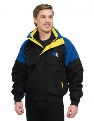 Tri-Mountain Big & Tall Men's Embroidered 3-in-1 System Jacket