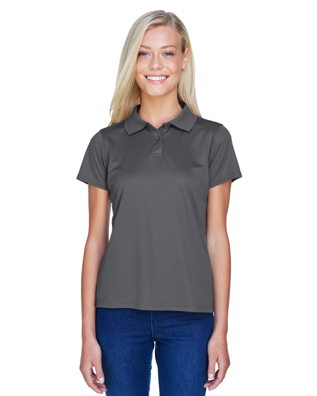 Harriton Women's Polytech Polo Shirt