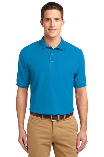Port Authority - K500  Men's Silk Touch Polo Shirt , Pensacola, Embroidery, Screen Printing, Logo Masters International