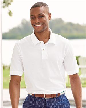 Izod Men's Silkwash Classic Pique Sport Shirt