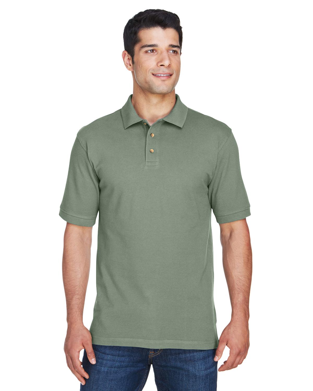 Harriton Men's Pique Polo Shirt