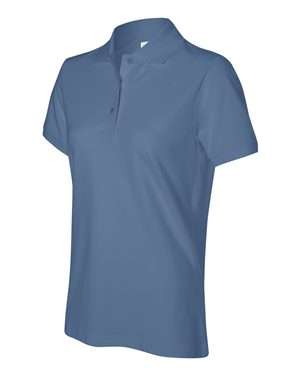 Izod - 13Z0063, Ladies Silk-wash Pique Polo - Logo Masters International