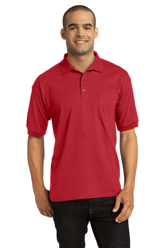 Gildan - 8900 Men's 5.6 oz. DryBlend 50/50 Jersey Polo with Pocket